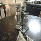 Set of 3 Designer Decorative Candle Holders 100% Handmade