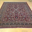 9x13 HANDKNOTTED SEMI ANTIQUE STUNNING PERSIAN MASHAD RUG VERY ELEGANTLY WOVEN!!