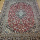 10X14 AUTHENTIC HANDKNOTTED PERSIAN KASHAN RUG SIGNED PIECE ABSOLUTELY GORGEOUS