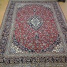AUTHENTIC 10X14 S ANTIQUE PERSIAN KASHAN RUG HAND KNOTTED AND ELEGANT GREAT DEAL