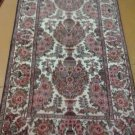 3x5 Authentic Handmade Doubleknotted Indo-Persian Sarouk Design Rug