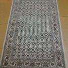 3x5 Handknotted Handmade Authentic Wool & Silk Sino-Persian Herati Rug