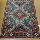 3x5 Handmade Handknotted Beautiful & Unique Authentic Persian Shiraz Area Rug
