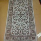 2x5 Handknotted Sino-Persian Rug Very Fine Quality Wool & Silk Highlight