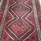 5x8 Handknotted Handmade Authentic Persian Shiraz Area Rug