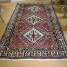 5x10 Handknotted Handmade Authentic Persian Shiraz Rug