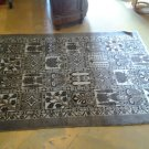4x6 HANDKNOTTED HANDMADE PERSIAN HAMADAN 4 SEASONS DESIGN SEMI ANTIQUE AREA RUG!
