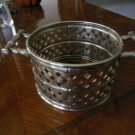 Silverplate Casserole Serving BAMBOO Trellis Lattice Bamboo International Silver