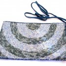 iPurse -Half Circle Silver-Pouch/Wallet/ Phone case/evening purse