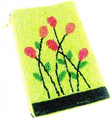 iPurse® Purse/Wallet/Pouch -Lime Garden/ Phone case/Wallet/Evening purse/Pouch
