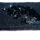 iPurse® SmartPhone Case-Purse/Wallet/Pouch -Silver Leaf/ Hand Made- Evening Purse-Designer Case