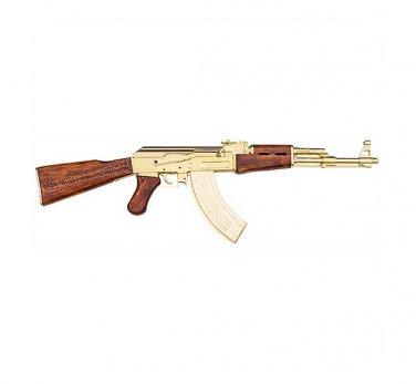 AK-47 Gold Non Firing Kalashnikov Replica Gun