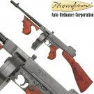 Thompson Machine Gun Replica Gangster Tommy WWII NON-Firing