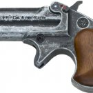 Old West Replica .22 Caliber Blank Firing Derringer Antiqued Finish