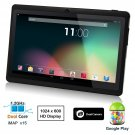 Dragon Touch® 7'' Black Dual Core Y88 Google Android 4.1 Tablet PC