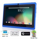 Dragon Touch® 7'' Blue Dual Core Y88 Google Android 4.1 Tablet PC