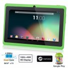Dragon Touch® 7'' Green Dual Core Y88 Google Android 4.1 Tablet PC