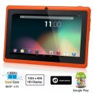 Dragon Touch® 7'' Orange Dual Core Y88 Google Android 4.1 Tablet PC