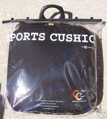 Sports Cushion Body Warmer Black NEW