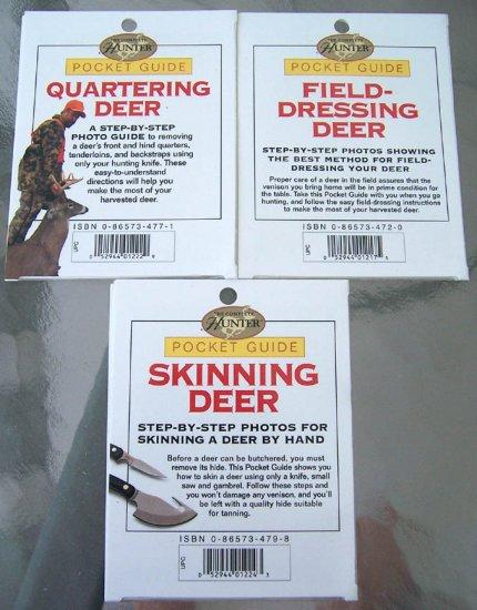 3 NEW Deer Hunting Pocket Guides