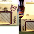 Cat & Fish Bone Photo Frame Box NEW