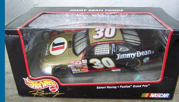 1998 Hot Wheels NASCAR Derrike Cope #30 Jimmy Dean