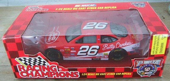 1998 Racing Champions NASCAR Johnny Benson #26 Betty Crocker