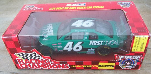 1998 Racing Champions NASCAR Wally Dallenbach #46 First Union