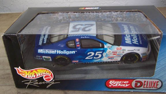 1999 Hot Wheels NASCAR Jerry Nadeau #25 Michael Holigan