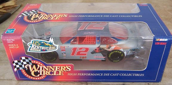 1999 Winner's Circle NASCAR Jeremy Mayfield  #12 Mobile 1