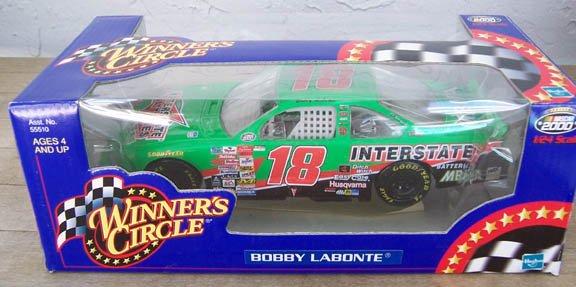 2000 Winner's Circle NASCAR Bobby Labonte #18 Interstate