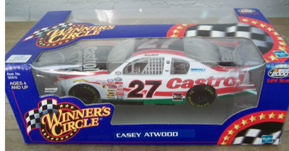 2000 Winner's Circle NASCAR Casey Atwood #27 Castrol