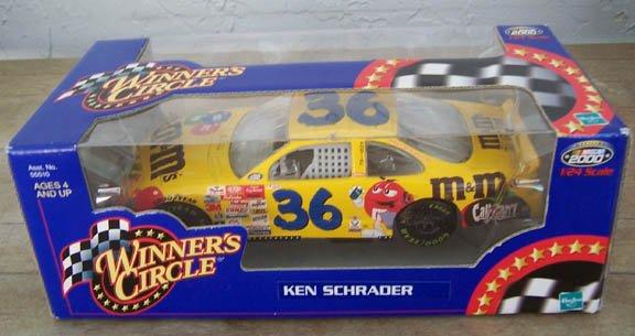 2000 Winner's Circle NASCAR Ken Schrader #36 M&M