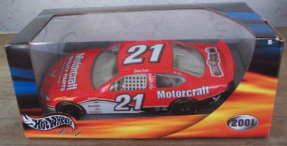 2001 Hot Wheels NASCAR Elliott Sadler #21 Motorcraft
