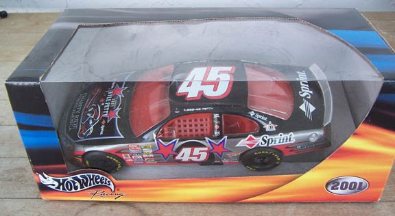 2001 Hot Wheels NASCAR Kyle Petty #45 Sprint