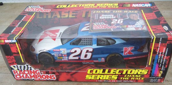 2001 Racing Champions NASCAR Jimmy Spencer  #26 KMart