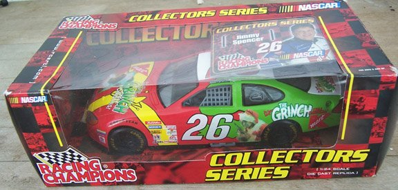 2001 Racing Champions NASCAR Jimmy Spencer  #26 KMart Grinch
