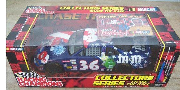 2001 Racing Champions NASCAR Ken Schrader 36 M&M 1:24