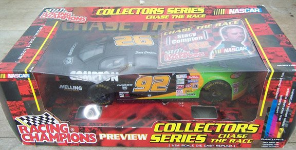 2001 Racing Champions NASCAR Stacy Compton #92 Melling/Compton