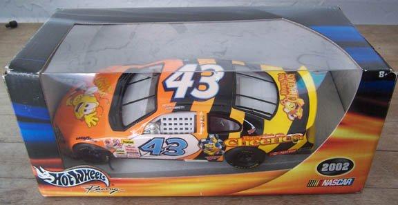 2002 Hot Wheels NASCAR John Andretti #43 Honey Nut Cheerios