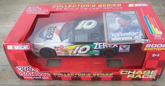 2002 Racing Champ. NASCAR Johnny Benson #10 Zerex