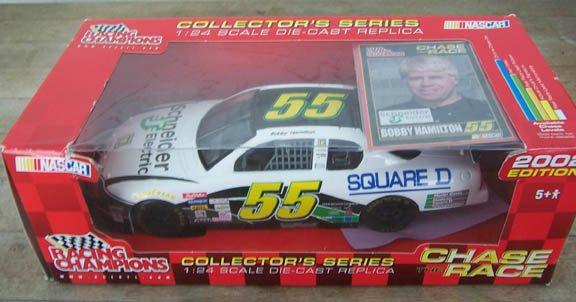 2002 Racing Champions NASCAR Bobby Hamilton #55 Square D