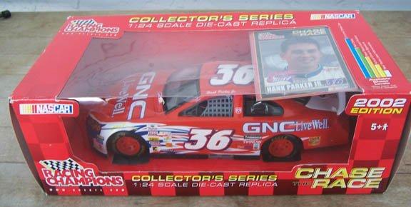 2002 Racing Champions NASCAR Hank Parker Jr. #36 GNC