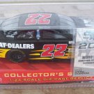 2002 Racing Champions NASCAR Ward Burton #22 Cat Dealers