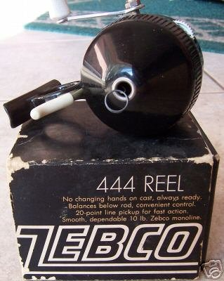 Zebco 444 Underslung Spin-cast Reel Original Box
