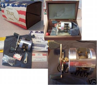 Zebco Quantum Tour Edition Limited Edition Reel in Box