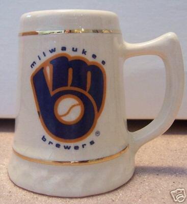 Milwaukee Brewers Miniature Beer Stein
