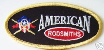 Oval American Rodsmiths Patch NEW
