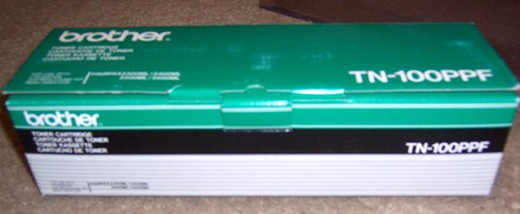Genuine Brother TN-100PPF Toner Cartridge NEW in the Box