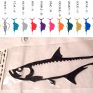 Tarpon Vinyl Decal 2 Pack Black